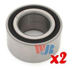 Pair of 2 New Front Wheel Bearing WJB WB510090 Interchange 510090 FW93