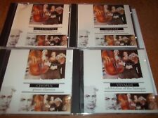 4 Classical Collections cd Mozart Vivaldi Chopin Tchaikovsky FREE POST