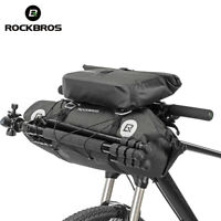 RockBros 2 IN 1 Waterproof Bicycle Roll Bag & Handlebar Bag Extra Large Capacity