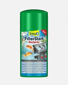 Tetra Pond Filter Start Live Filter Bacteria Starter Activate Boost 500ml