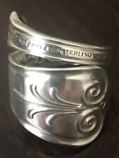 Sterling Silver Spoon Ring - 1869 Tiffany / Tiffany (Beekman) - size 9