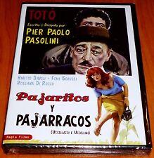 PAJARITOS Y PAJARRACOS / UCCELLACCI E E UCCELLINI - Toto / Pier Paolo Pasolini