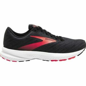 Brooks Launch Running Shoes Womens Ladies Neutral Trainers Black UK 8 EUR 42