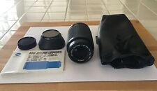 Minolta Md Zoom Lens with accessories