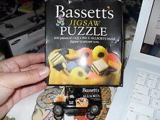 Vintage BASSETT'S Regaliz Allsorts 200 Pieza Rompecabezas & Llado van