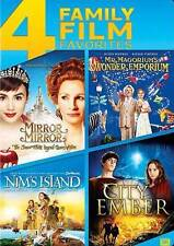 Mirror, Mirror/Mr Magorium Wonder Emporium/Nims Island/City of Ember (DVD, 2014)