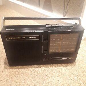 Grundig Music Boy 100 Working Vintage Radio