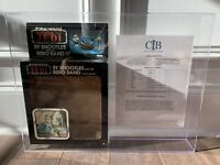 STAR WARS SY SNOOTLES REBO BAND PROTOTYPE BOX CIB CERT KENNER VINTAGE 1983 ROTJ