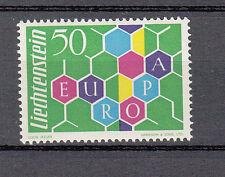 Liechtenstein MER. n. 398 CEPT/Europa 1960 post freschi, perfettamente, vedi scansione