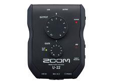 Zoom U22 mobiles USB Audio-interface
