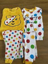 children in need pudsey bear pajamas 5-6