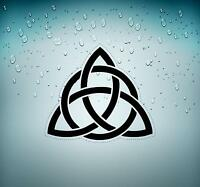 Sticker tuning decal car motorcycles trinity knot triquetra celtic symbol r3