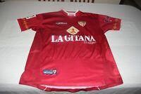 "Camiseta OFICIAL SEVILLA FC JOMA 2003-04 Talla M 19 ""La Bestia"" JULIO BAPTISTA"