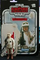 VINTAGE STAR WARS 1980 REBEL COMMANDER LOOSE FIGURE 100% COMPLETE + 48 BACK CARD