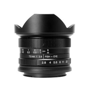 7Artisans 7.5mm F2.8 APS-C Fisheye Sony New Agsbeagle