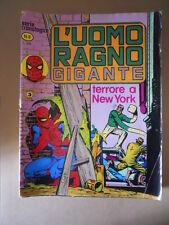 L' Uomo Ragno Gigante Serie Cronologica n°8 1977 ed. Corno  [G734B] BUONO