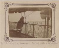 Messina Italia Foto Amateur snapshot Stampa A Citrato Ca 1900
