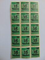 Bogenteil 15 Tsd. auf 40 Mark, 1923, Mi 279 b, Plattenfehler 279 VI