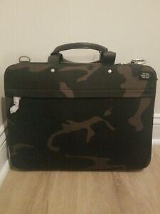 Jack Spade, Slim Brief, Camo Waxwear, Great Gift for Him, NWT $398