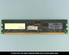 HP 373029-051 DDR 1GB PC-3200 Reg ECC 400Mhz 1Rx4 RAM Memory