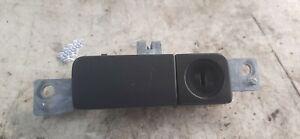 94-96 Infiniti Q45 Gray Glove Box Handle w Lock (w/o Key)