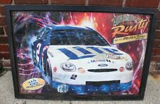 Lite Adventures of Rusty and his Miller Time Machine Nascar Lighted Sign