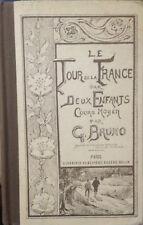 le tour de France par deux enfants cours moyen par G. Bruno 1978 bon état