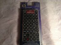 Brand New Universal Jumbo Remote Control NIB Controls Up to 8 Devices L204800103