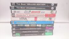 PACK 10 JUEGOS PC:THE SIMS 3,DELUXE,UNLEASHED,MONOPOLY,PIRATAS DEL CARIBE,CSI..