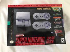 SNES Classic Edition Mini Super Nintendo in Hand