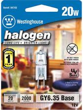 Westinghouse  20 watts T4  Halogen Bulb  300 lumens White  Decorative  1 pk