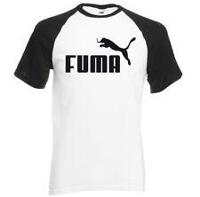 T-shirt manches courtes contrasté homme BLANC/NOIR FUMA