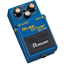 Boss BD-2W Blues Driver Waza Craft Effekt-Pedal
