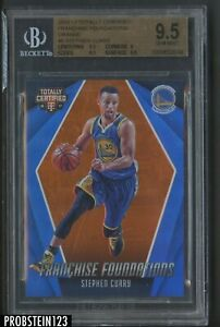 Cracked Case: 2016-17 Totally Certified Orange #5 Stephen Curry 30/60 BGS 9.5