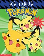 How to Draw Pokemon by Tracey West (2003, Hardcover, Prebound)