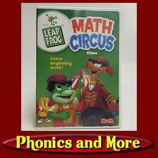 Leap Frog: Math Circus - Video Dvd- Learn Beginning Math - pre-owned