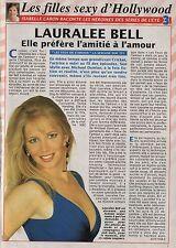 Coupure de presse Clipping 1994 Lauralee Bell (1 page) les feux de l'amour