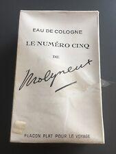 Le Numero Cinq Eau De Cologne FULL BOTTLE Original Box Molyneux Paris / G-1001