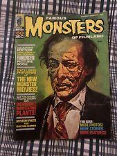Vintage Famous Monsters of Filmland  Magazine #60 December 1969