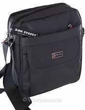 Herren Tablet Tasche Schultertasche Umhängetasche Handtasche Bag schwarz Var.II