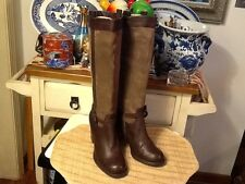 NATURALIZER Glassy N5 Comfort Leather Knee High Boots,women's Sz 8.5m