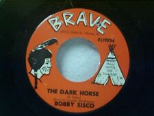 "BOBBY SISCO ""THE DARK HORSE / THAT FEELING STILL COMES & GOES"" 45 MINT UNPLAYED"