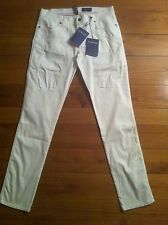 Pantaloni in Cotone(cannette) da uomo bianchi Jeckerson disponibile Tg 34,36,38