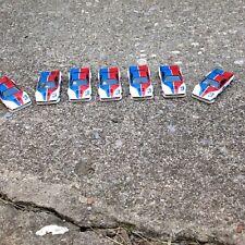 VINTAGE AURORA AFX SLOT CAR BODY GROUP / RED / WHITE BMW / #3 / 1980!!!!!