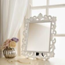 Ornate Dressing Table Mirror, Black Or White