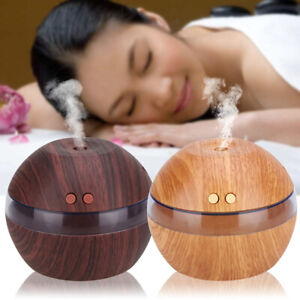 New LED Ultrasonic Essential Oil Aroma Diffusers Air Mist Humidifier Purifier