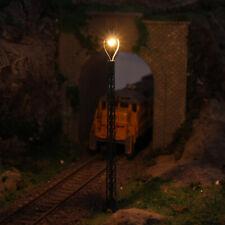 3pcs Model Railway 1:87 Lattice Mast lamp Track light TT Scale 11cm Layout LQS45