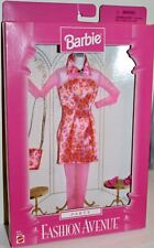 1997 Mattel Fashion Avenue Party Pink And Leopard Dress No. 18155 Nrfb