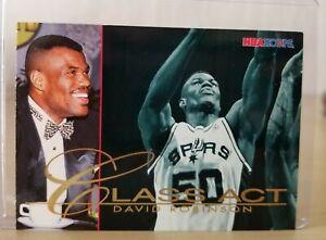 David ROBINSON 1995-96 NBA Hoops Class Act #242 / Spurs / Mint
