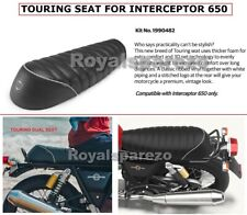 """Royal Enfield """"TOURING SEAT, BLACK"""" For Interceptor 650 & Continental GT 650"""